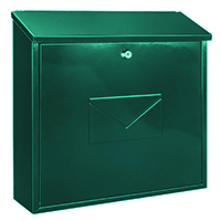 Image for Firenze Mail Box Green 371792