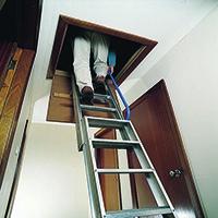 Image for 2540mm Aluminium Loft Ladder 306685