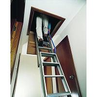 Image for 2820mm Aluminium Loft Ladder 306686