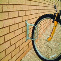 Image for Cycle Holder Wall Mounted 90 Degree 306935