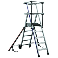 Image for 4 Tread Silver Work Platform 307570