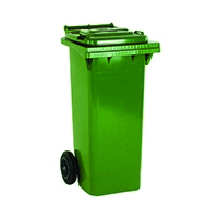 2 Wheel Green Refuse Container 80 Litre 331264