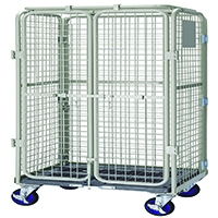 Image for VFM Grey Nesting Security Roll Cafe Container 360104