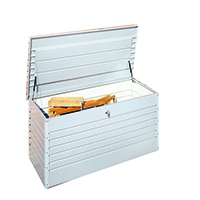 VFM Silver Leisure time Metallic Storage Box 370782