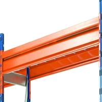 Image for Heavy Duty Shelf 25mm Chipboard/Steel Supports Orange 379829