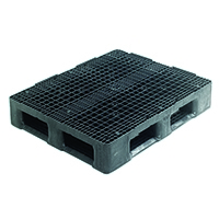 Image for Hygienic Perimeter Pallet 1200x1000x163mm Charcoal 382781