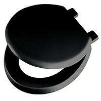 Emerald Toilet Seat and Lid Black 383207