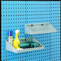 Image for Perfo System Grey 900X170mm Tool Shelf 306990