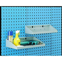 Image for Perfo System Grey 900X250mm Tool Shelf 306991