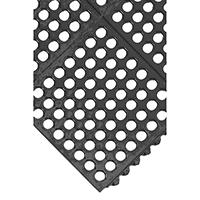 Image for All-Purpose Grid Surface Black Anti-Fatigue Modular Mat 312412