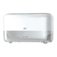 Tork Mid Size Blue Plastic Toilet Paper Dispenser 472056
