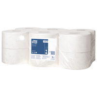 Tork Advanced Hygiene Mini Jumbo Toilet Roll 2 Ply (12 Pack) 120238