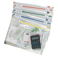 Image for Snopake Zippa Bag 355 x 235mm (25 Pack) 11463