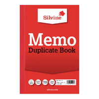 Image for Silvine Duplicate Book 152x102mm Memo Ruled (12 Pack) 600