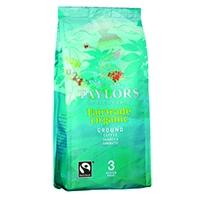 Taylors Fairtrade Organic Ground Coffee 227g 3689