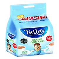 Tetley One Cup Decaffeinated Tea Bags (440 Pack) 1800A