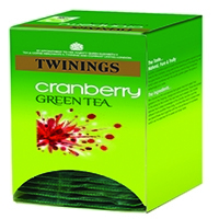 Twinings Cranberry Green Tea Bags (20 Pack) F08046