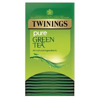 Twinings Pure Green Tea Bags (20 Pack) F09542