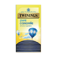 Twinings Pure Camomile Herbal Infusion Tea Bags (20 Pack) F09611
