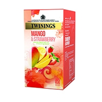 Twinings Mango & Strawberry Infusion Tea Bags (20 Pack)