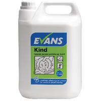 Evans Kind General Purpose Washing Up Liquid 5 Litre (2 Pack) A180EEV2