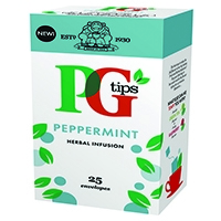 PG Tips Peppermint Envelope Tea Bags (25 Pack) 49095601