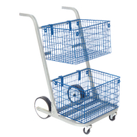 Image for GoSecure Silver Major Mail Trolley MT2SIL