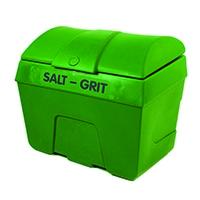 Green Winter Salt and Grit Bin 400 Litre No Hopper 317069