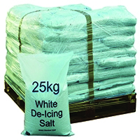 Winter De-Icing Salt White 25kg (40 Pack) 383208