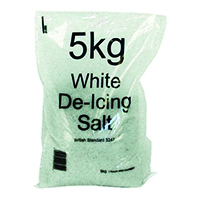 White Winter De-Icing Salt 5kg Bag (10 Pack) 383497