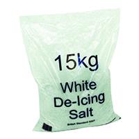 Image for White Winter De-Icing Salt 15kg Bag (30 Pack) 379758