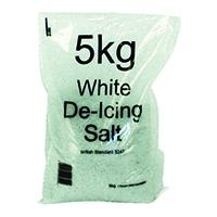 White Winter De-Icing Salt 5kg Bag (15 Pack) 188150