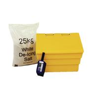 Image for 50 Litre Grit Bin and 25kg Salt Kit 389115