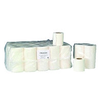 Image for 2 Ply White 200 Sheet Toilet Roll (36 Pack) TWH200T