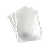 Image for A4 Clear 35 Micron Punched Pocket (100 Pack) 270486
