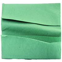 Image for 1 Ply Green C-Fold Hand Towels (2850 Pack)